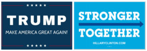 Presidential slogans, the race for capturing votes