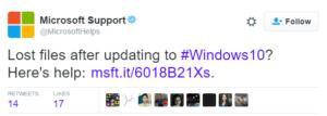 Microsoft customer service complaint twitter marketing windows