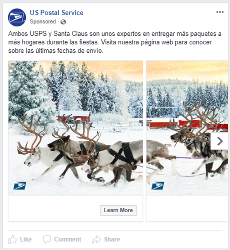 Seasonability for Facebook