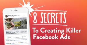 Secrets to create Facebook ads