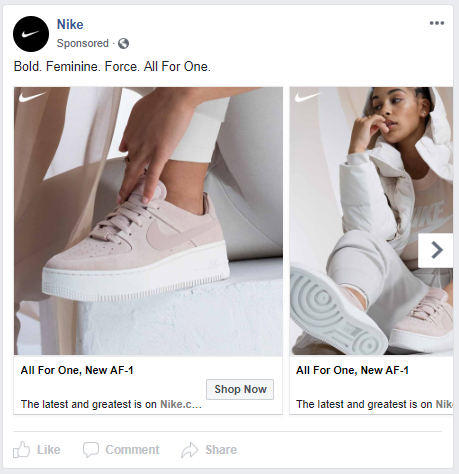 Targeted Message Facebook Ads