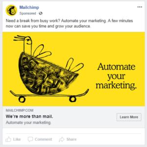 Mailchimp Facebook Ads