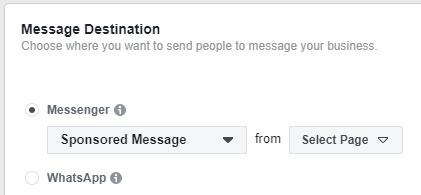 Facebook Messenger Ad