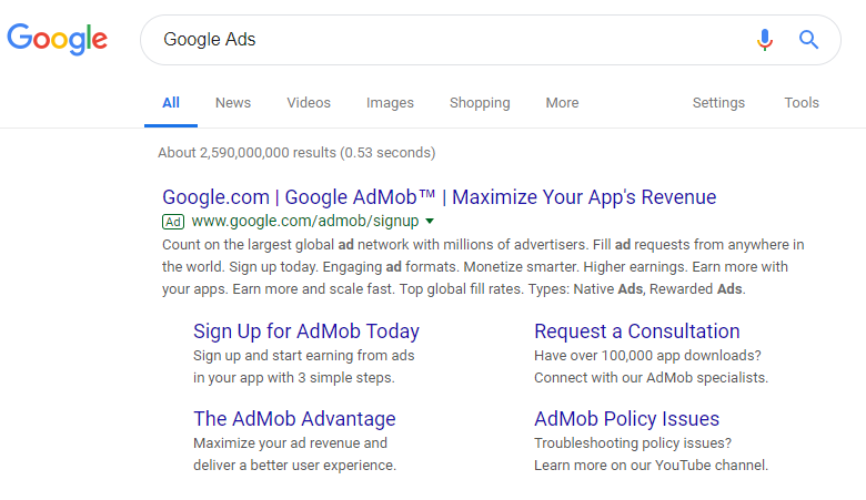 How does Google Ads work
