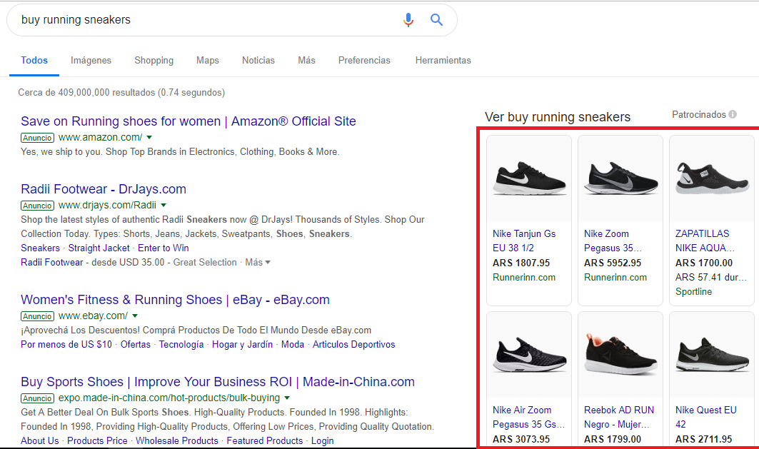 Google Ads Shopping Ads