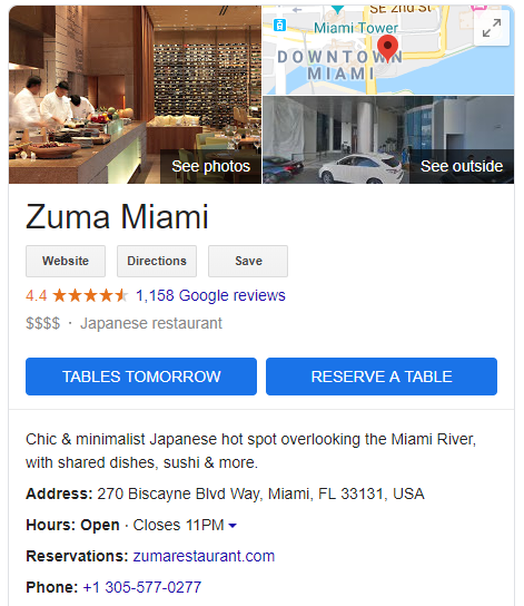 Optimized your google my business with call to actions