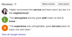 Optimized Google My Business managing your reviews